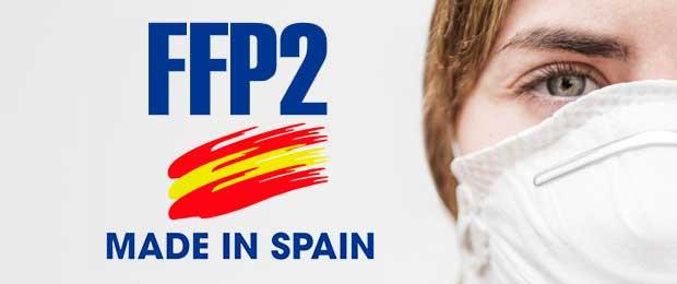 mascarillas ffp2 fabricadas en españa